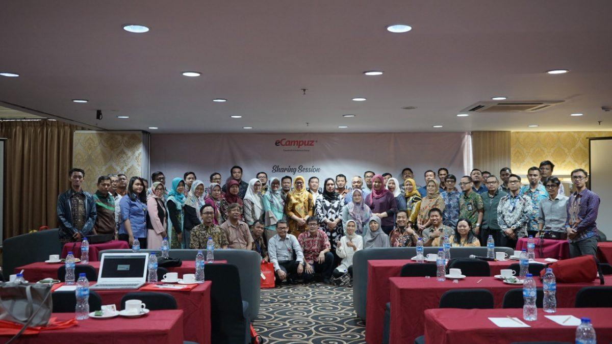 eCampuz bekerjasama dengan LLDIKTI Wilayah 3 gelar Sharing Session