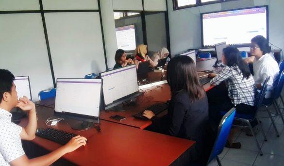Pelatihan & Serah Terima Pekerjaan Sistem Informasi Terpadu UNIMA 6