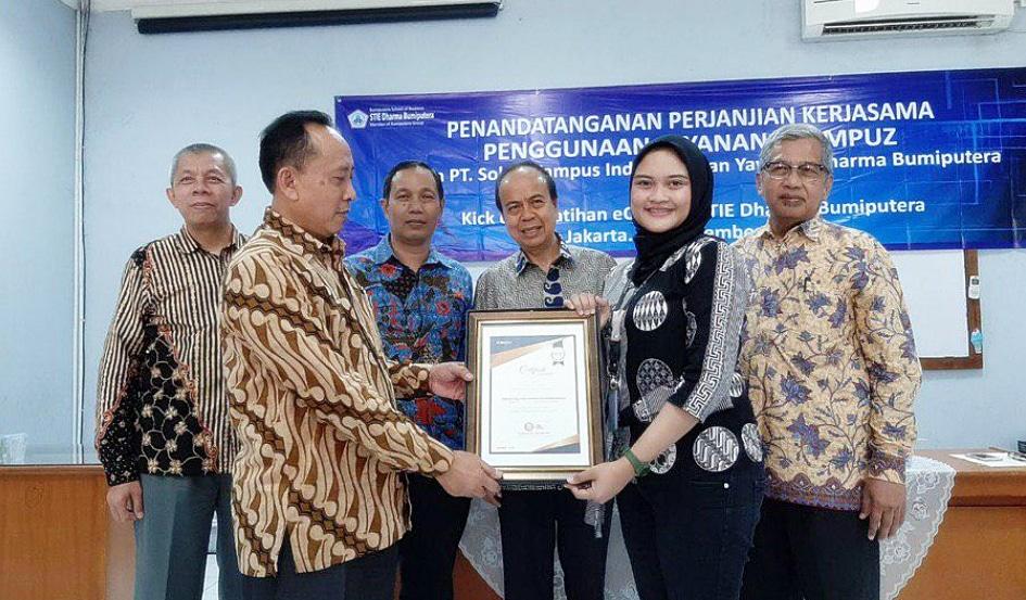 Penandatanganan MoU eCampuz Cloud STIE Dharma Bumiputera Jakarta