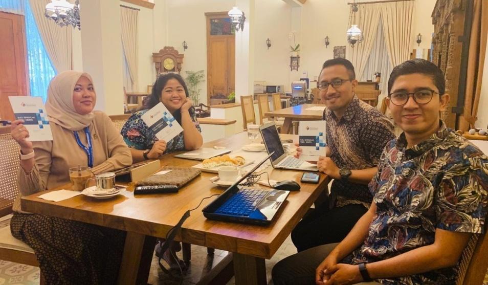 Diskusi Santai Bersama Tim PPM Manajemen Jakarta