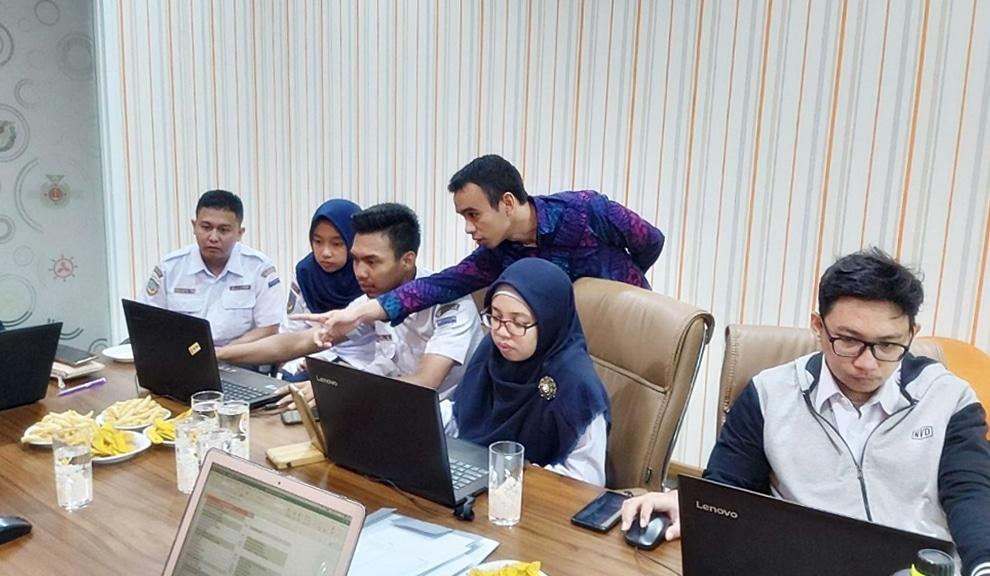 Pelatihan Intensif Operator Pengelola Website STIP Jakarta