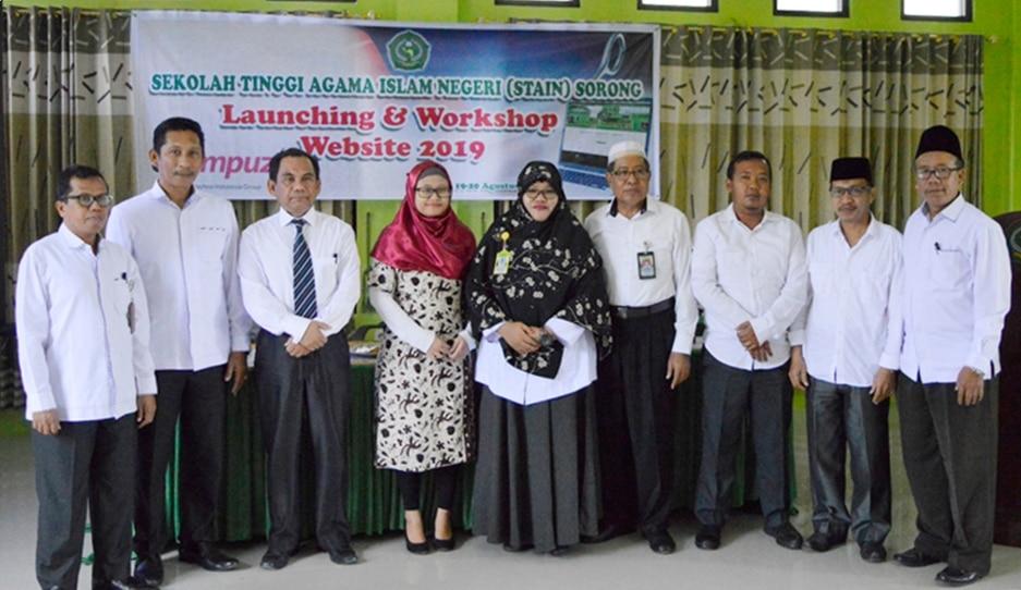 Launching dan Implementasi Website STAIN Sorong
