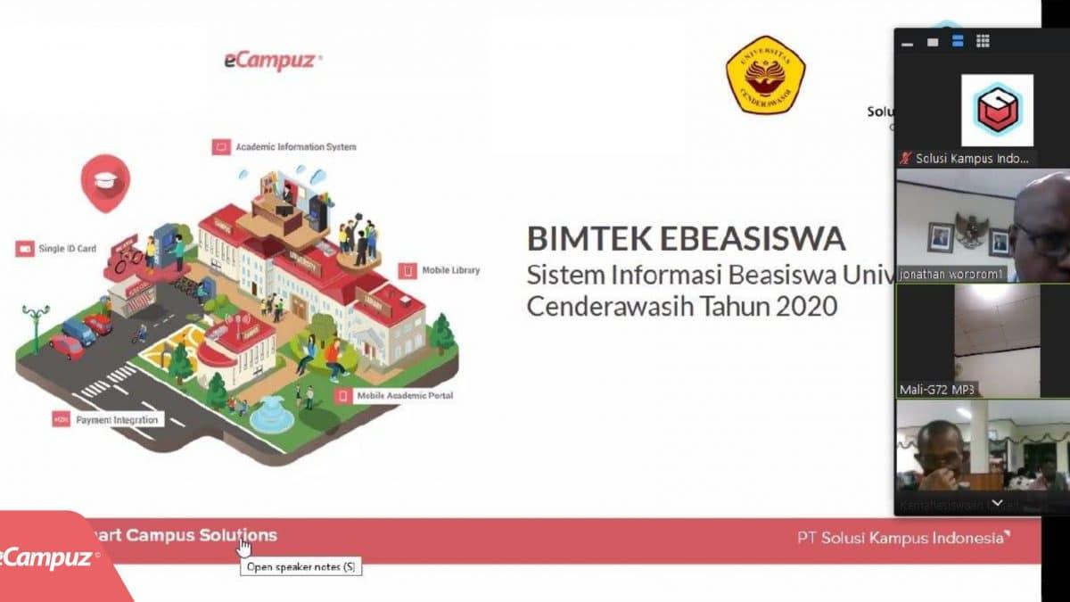 BIMTEK Implementasi Aplikasi eBeasiswa di Universitas Cenderawasih