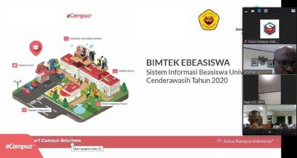 BIMTEK Implementasi Aplikasi eBeasiswa di Universitas Cenderawasih 15