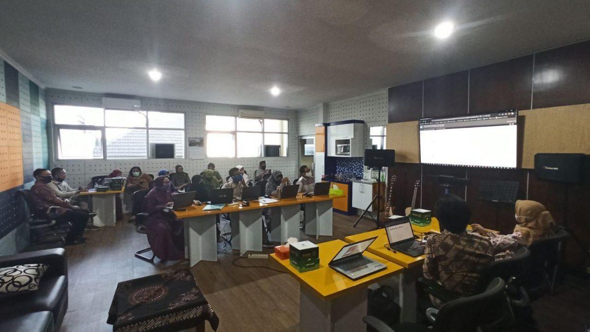 Rapat Koordinasi & Progress Report Bersama LLDIKTI V Yogyakarta