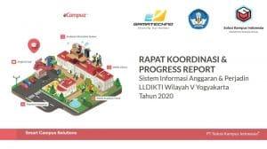 Rapat Koordinasi & Progress Report Bersama LLDIKTI V Yogyakarta 5