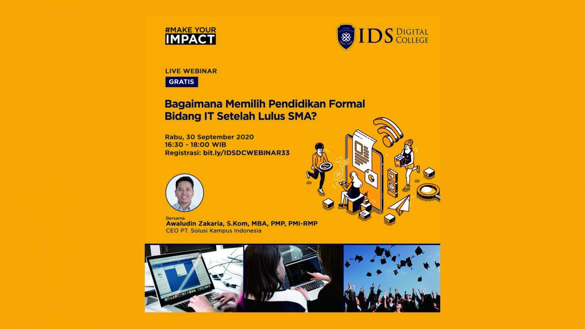 eCampuz CSR: Webinar Sekolah Tinggi Manajemen Informatika & Komputer IDS Digital College