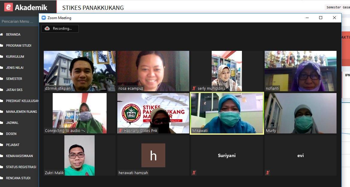 BIMTEK Aplikasi Akademik STIKES Panakkukang Makassar