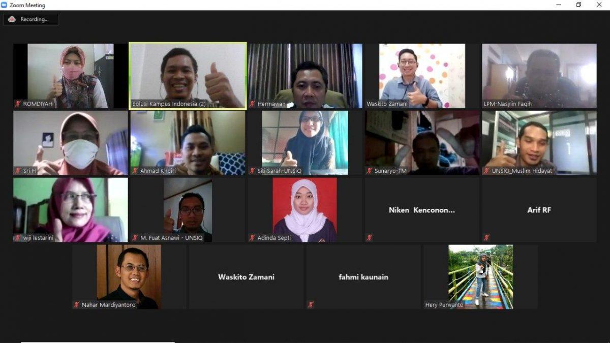 Paparan eSPMI di Universitas Sains Al- Qur'an Jawa Tengah