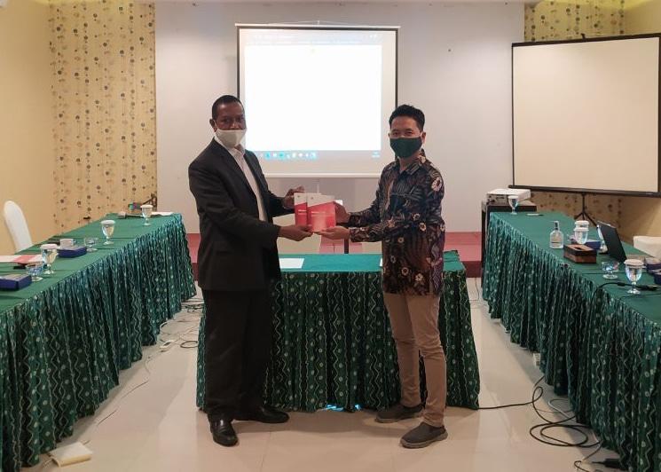 Laporan dan Serah Terima Pekerjaan eBudgeting & eFinansi Universitas Cenderawasih