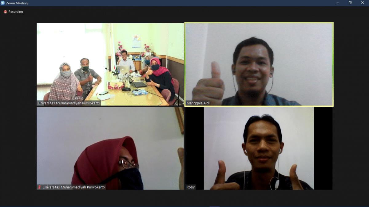 Paparan eDashboard & eSPMI di Universitas Muhammadiyah Purwokerto (UMP)