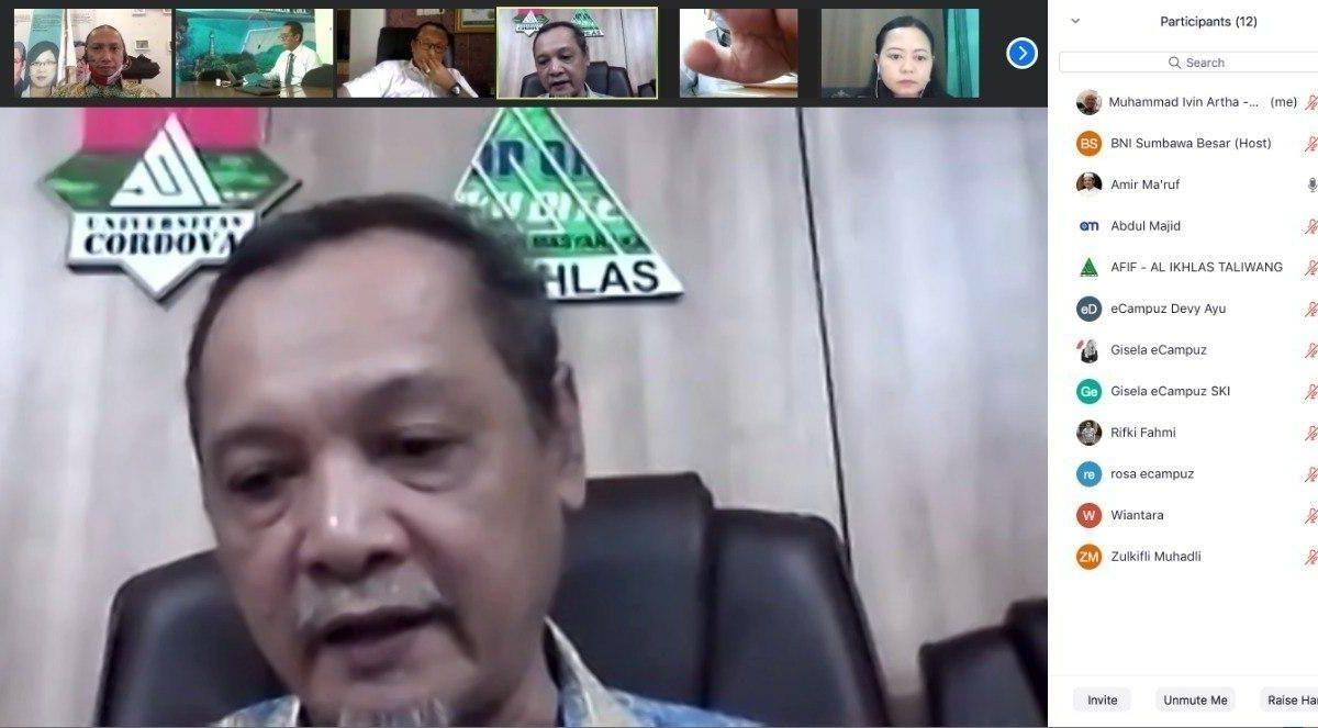 eCampuz Berdiskusi Mengenai Sistem Informasi di Yayasan Al-Ikhlas Taliwang Sumbawa