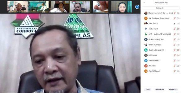 eCampuz Berdiskusi Mengenai Sistem Informasi di Yayasan Al-Ikhlas Taliwang Sumbawa 2