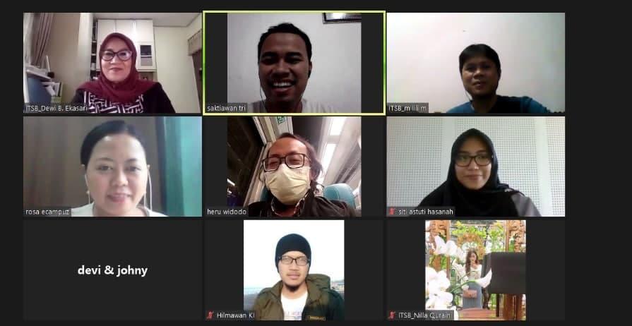 Retraining eCampuz Cloud Institut Teknologi Sains Bandung (ITSB Cikarang)