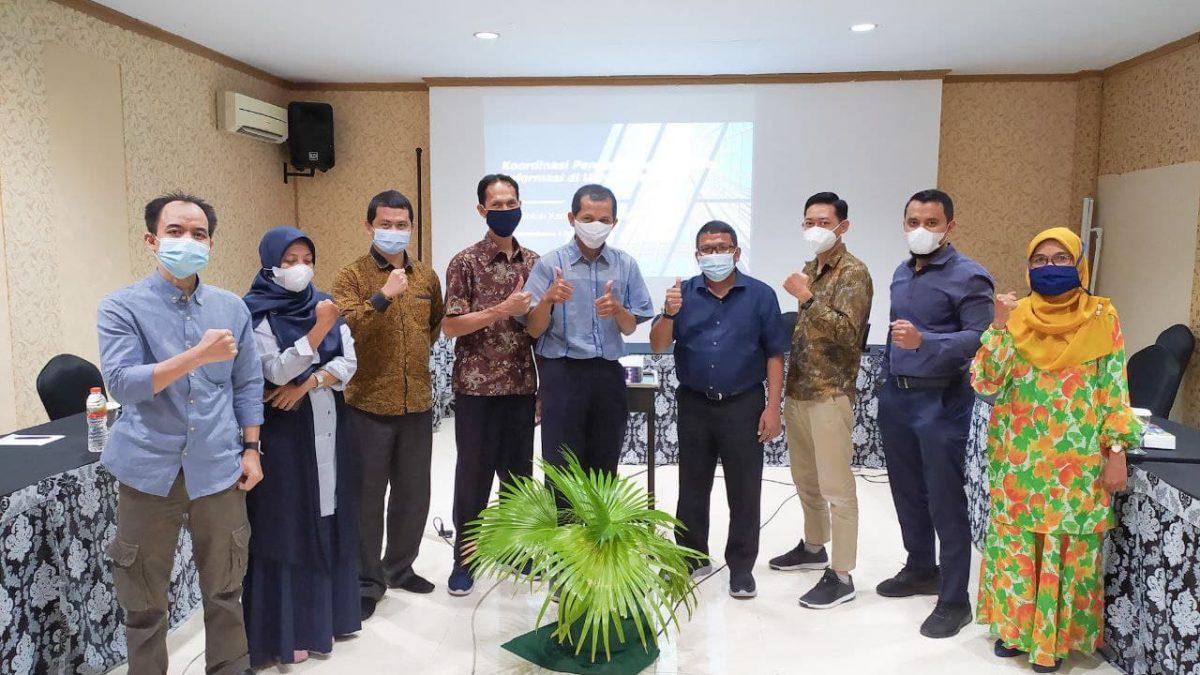 Koordinasi Pengembangan Sistem Informasi Universitas Riau (UNRI) Tahun 2021