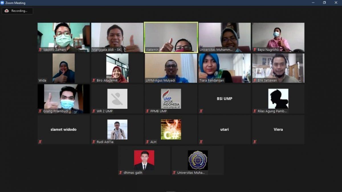 Pengembangan Pangkalan Data Universitas Muhammadiyah Purwokerto