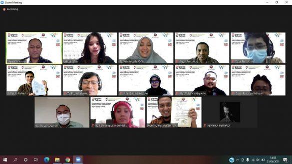 Solusi Kampus Indonesia & FIT Universitas Telkom, Tanda Tangani Kontrak Kerjasama 1