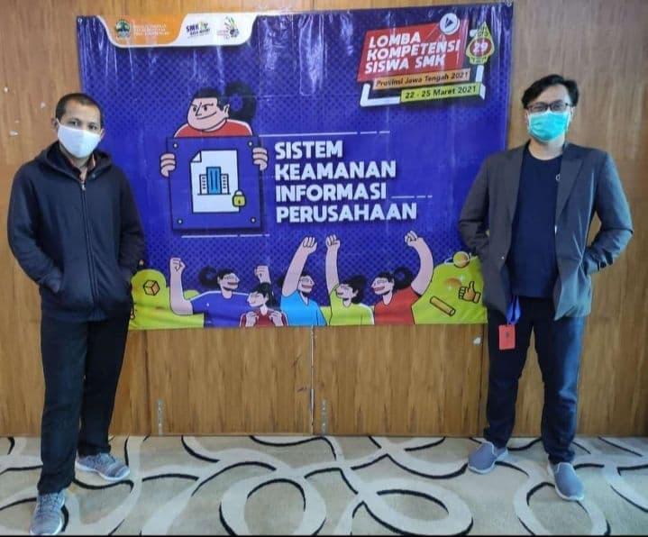 Lead SysAdmin eCampuz Menjadi Juri Lomba Kompetensi Siswa Tingkat Jawa Tengah