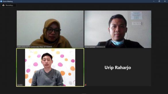 Diskusi RFID Kartu Mahasiswa UNRI 1