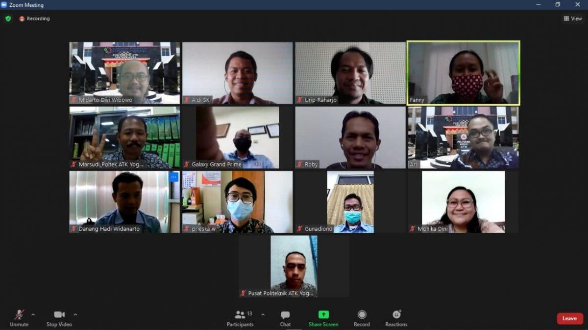 Proses Upgrading Aplikasi Akademik Milik Politeknik ATK Yogyakarta
