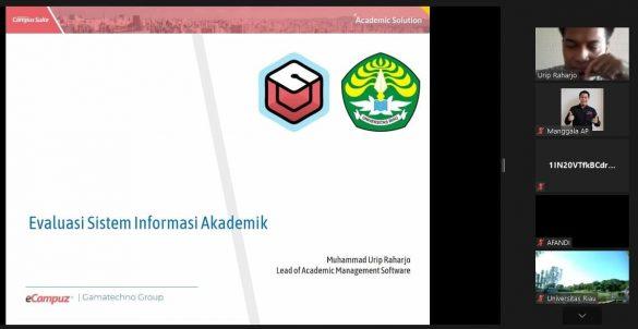Penetapan Status Mahasiswa dan Update Data Pelaporan PDDIKTI di Universitas Riau 3
