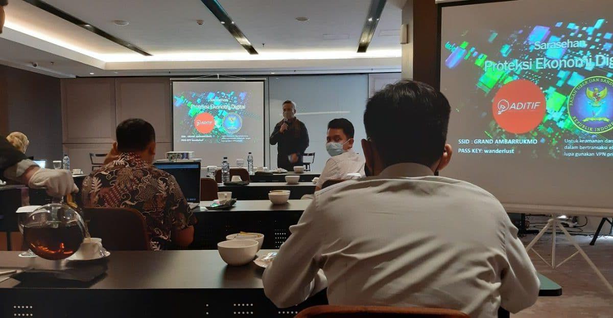 Sarasehan Proteksi Digital Ekonomi bersama ADITIF & BSSN