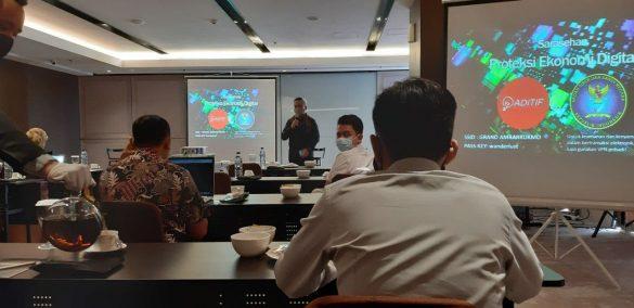 Sarasehan Proteksi Digital Ekonomi bersama ADITIF & BSSN 3