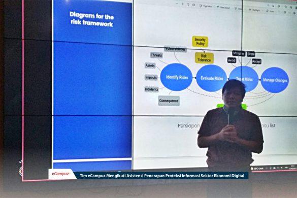 Tim eCampuz Mengikuti Asistensi Penerapan Proteksi Informasi Sektor Ekonomi Digital 1