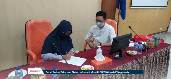 Serah Terima Pekerjaan Sistem Informasi eAset LLDIKTI Wilayah V Yogyakarta 13