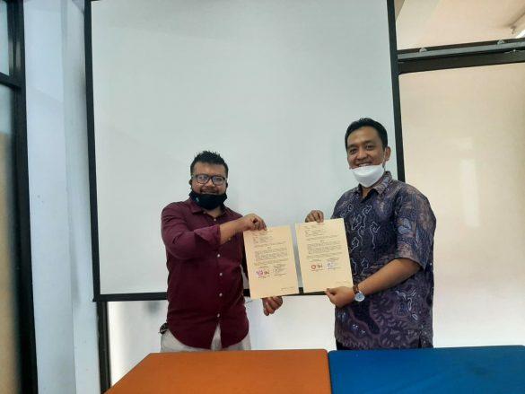 Penandatanganan MoU Implementasi MBKM dengan FTI Universitas Mercu Buana Yogyakarta 1