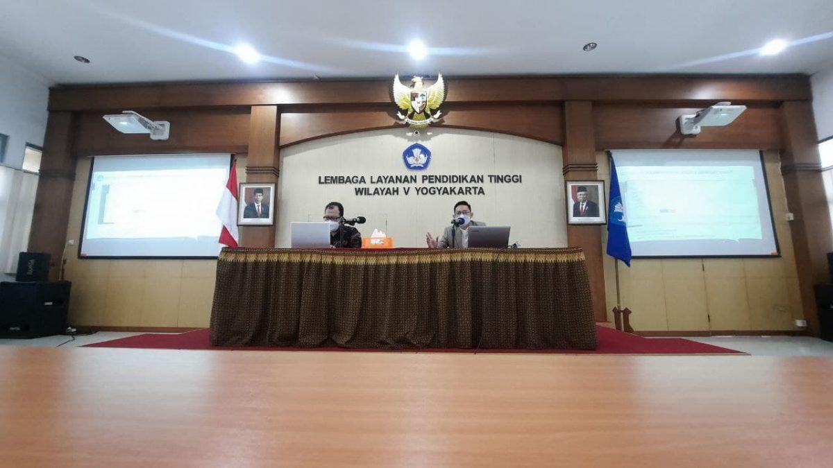 Sosialisasi ePAKDOS LLDIKTI Wilayah V Yogyakarta