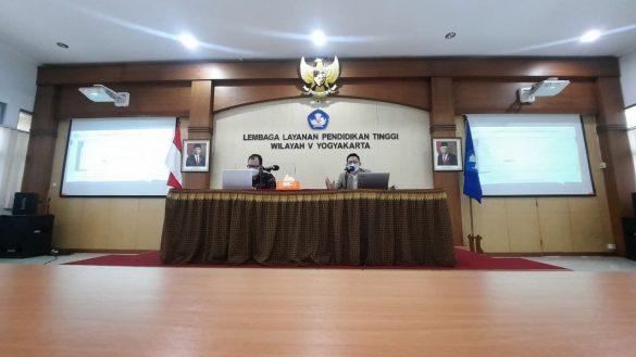 Sosialisasi ePAKDOS LLDIKTI Wilayah V Yogyakarta 1