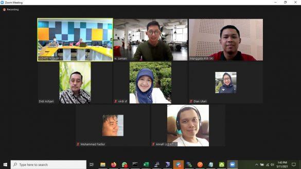 Serah Terima Pengadaan Jasa Pengembangan Sistem Informasi e-Dashboard LLDIKTI V Wilayah Yogyakarta 3