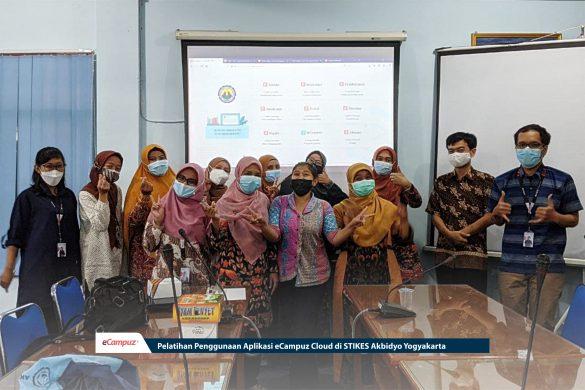 Pelatihan Penggunaan Aplikasi eCampuz Cloud di STIKES Akbidyo Yogyakarta 8