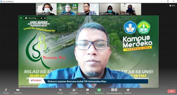 Diskusi Lanjutan Rencana Induk TIK Universitas Riau 11