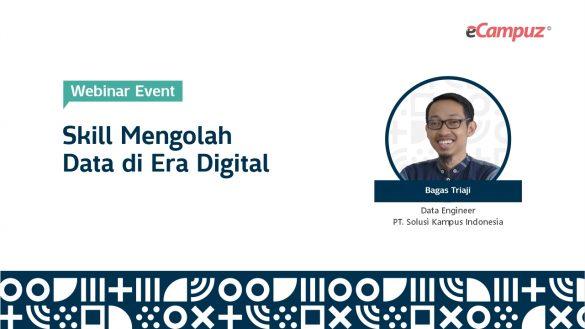 Webinar eCampuz Series 41 'Skill Mengolah Data di Era Digital' 1
