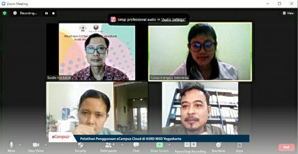 Pelatihan Penggunaan eCampuz Cloud di ASRD MSD Yogyakarta 3