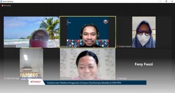 Sosialisasi dan Pelatihan Penggunaan eCampuz Cloud Kampus Merdeka di STIM YKPN 4