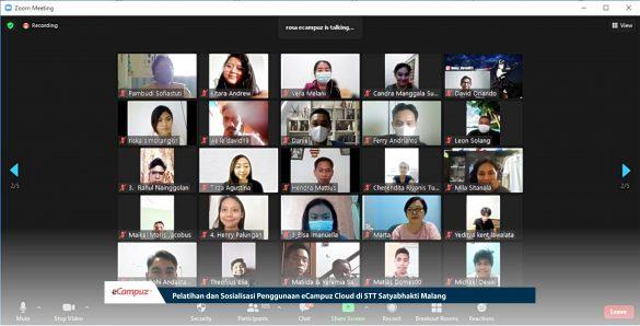 Pelatihan & Sosialisasi Penggunaan eCampuz Cloud di STT Satyabhakti Malang 1