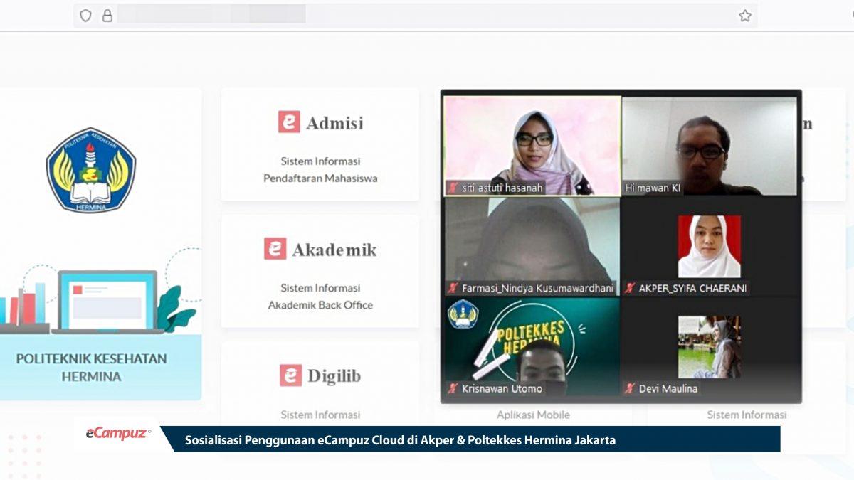 Sosialisasi Penggunaan eCampuz Cloud di Akper & Poltekkes Hermina Jakarta