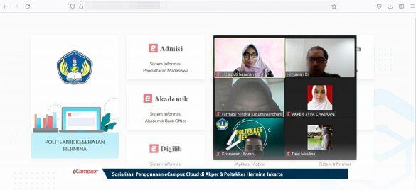 Sosialisasi Penggunaan eCampuz Cloud di Akper & Poltekkes Hermina Jakarta 3