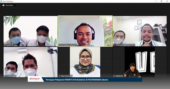 Persiapan Pelaporan PDDIKTI & Perkuliahan di Polteknaker Jakarta 1