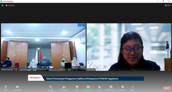 Diskusi Pemantapan Penggunaan Aplikasi ePembayaran di STIE IEU Yogyakarta 1