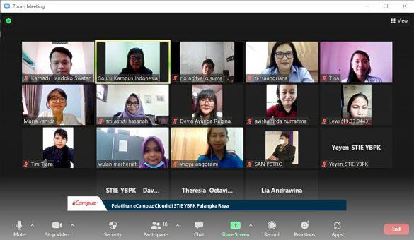 Pelatihan eCampuz Cloud di STIE YBPK Palangka Raya 9