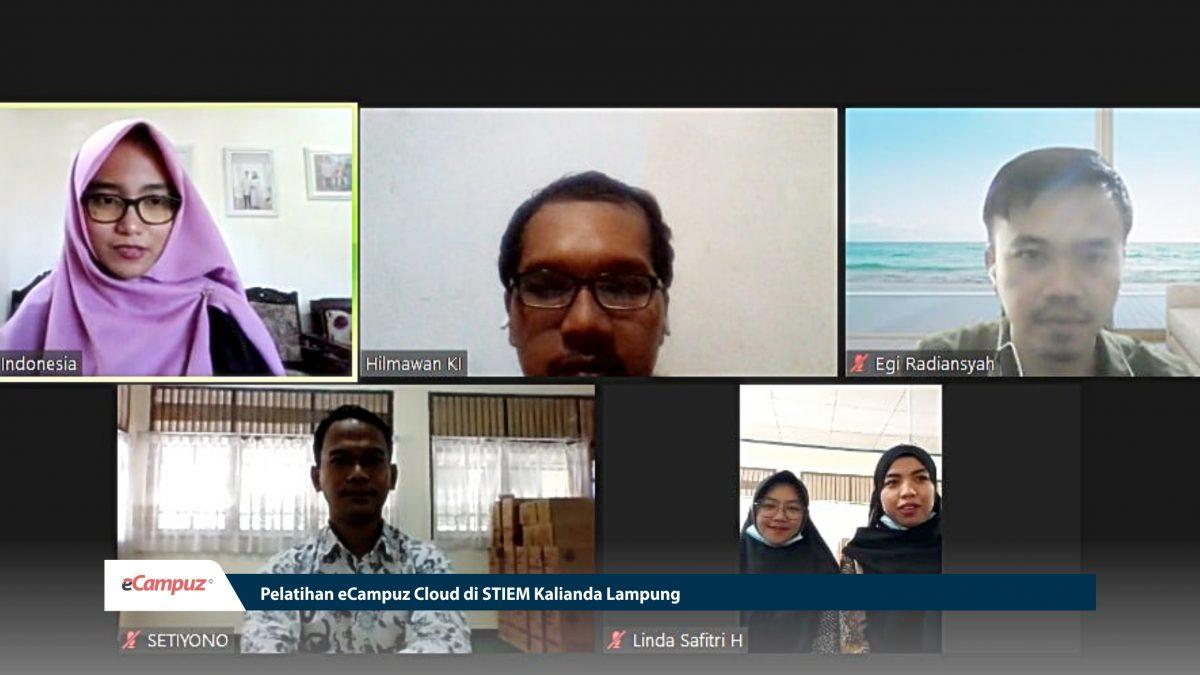 Pelatihan eCampuz Cloud di STIEM Kalianda Lampung