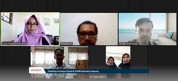 Pelatihan eCampuz Cloud di STIEM Kalianda Lampung 1