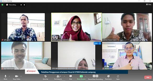 Pelatihan Penggunaan eCampuz Cloud di STIEM Kalianda Lampung 3
