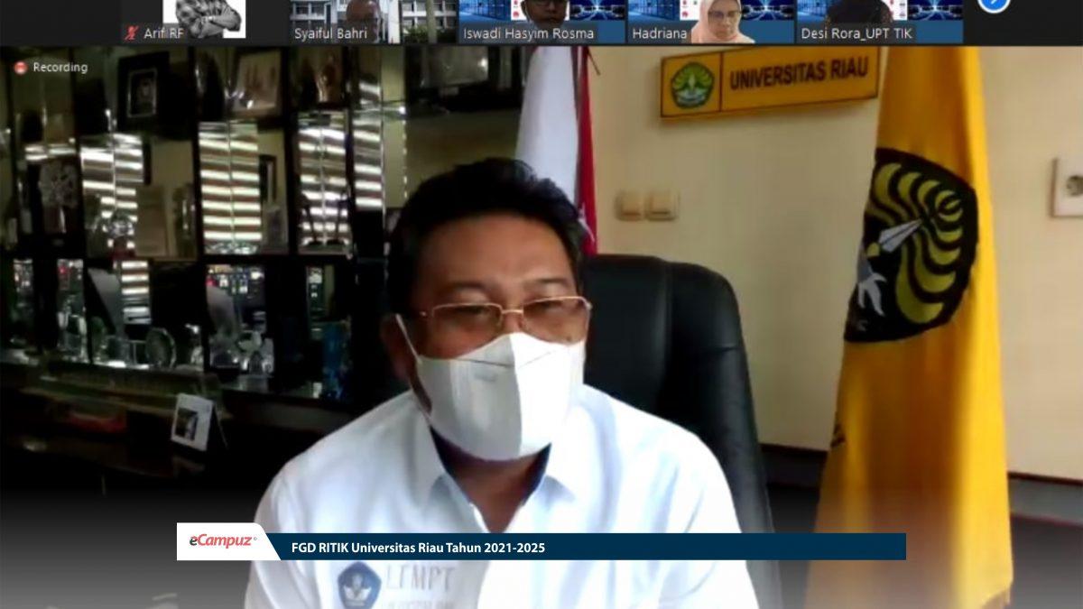FGD RITIK Universitas Riau Tahun 2021-2025