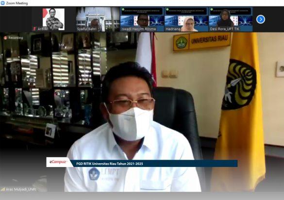 FGD RITIK Universitas Riau Tahun 2021-2025 1