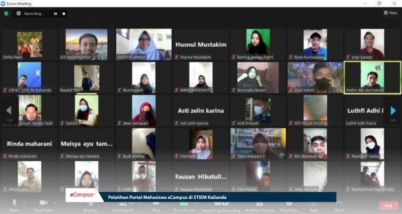 Sosialisasi ePortal Mahasiswa eCampuz di STIEM Kalianda Lampung 1